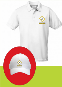 Lawn Bowls Funny White Baseball Cap Or Polo Shirt Man At Work FREEPOST UK